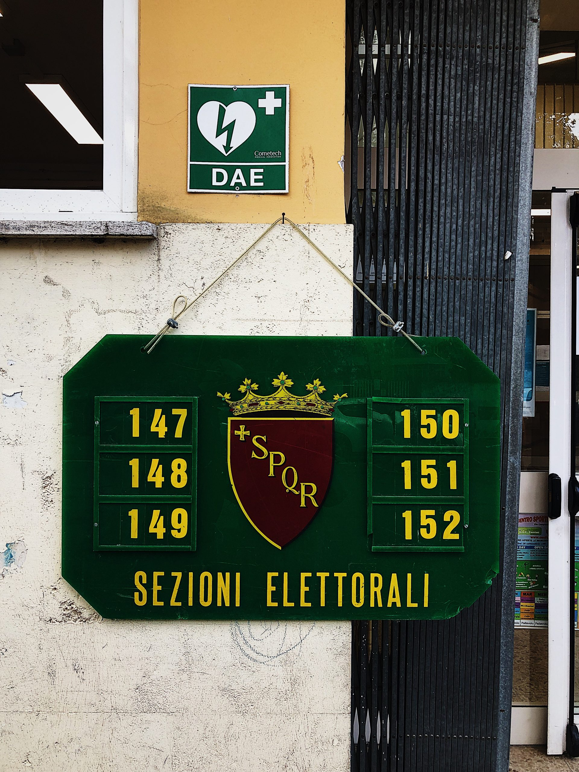 home life in Rome: election day