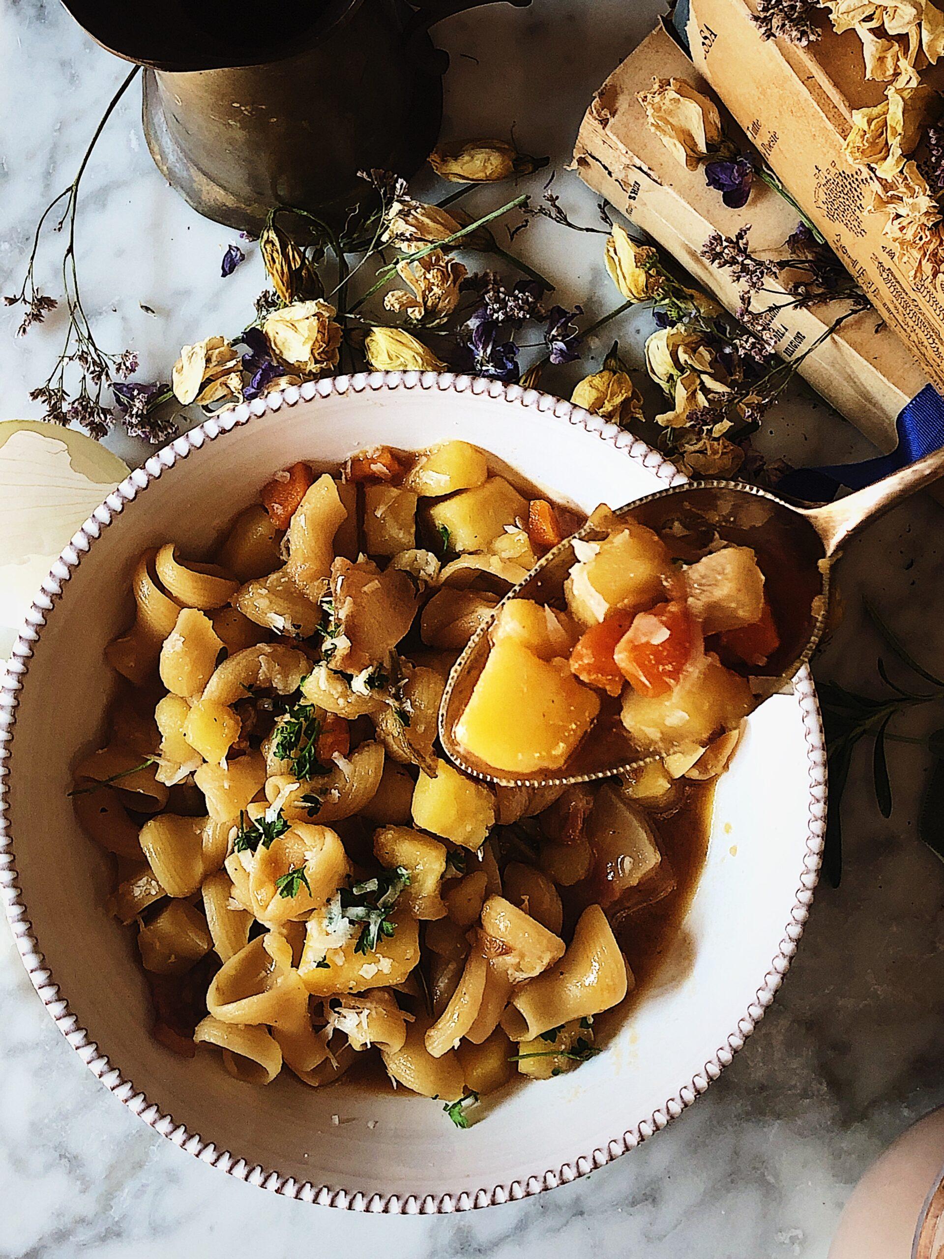 Italian food magazine