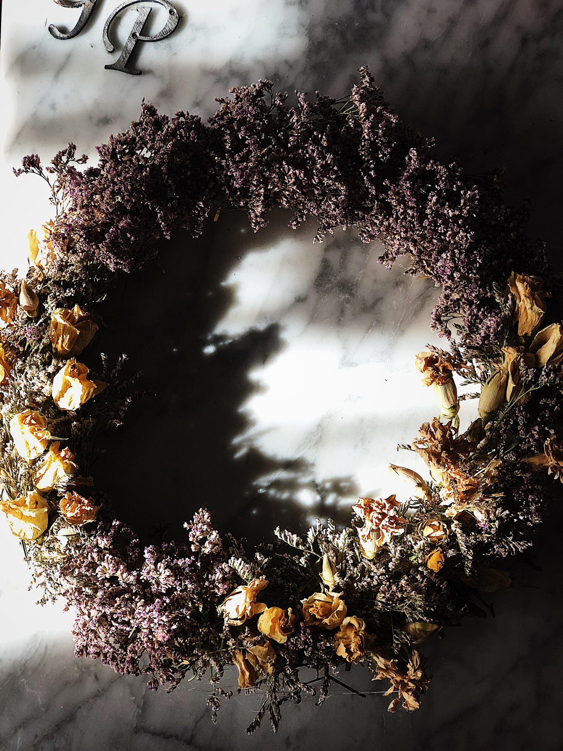 home life in Rome: wreath