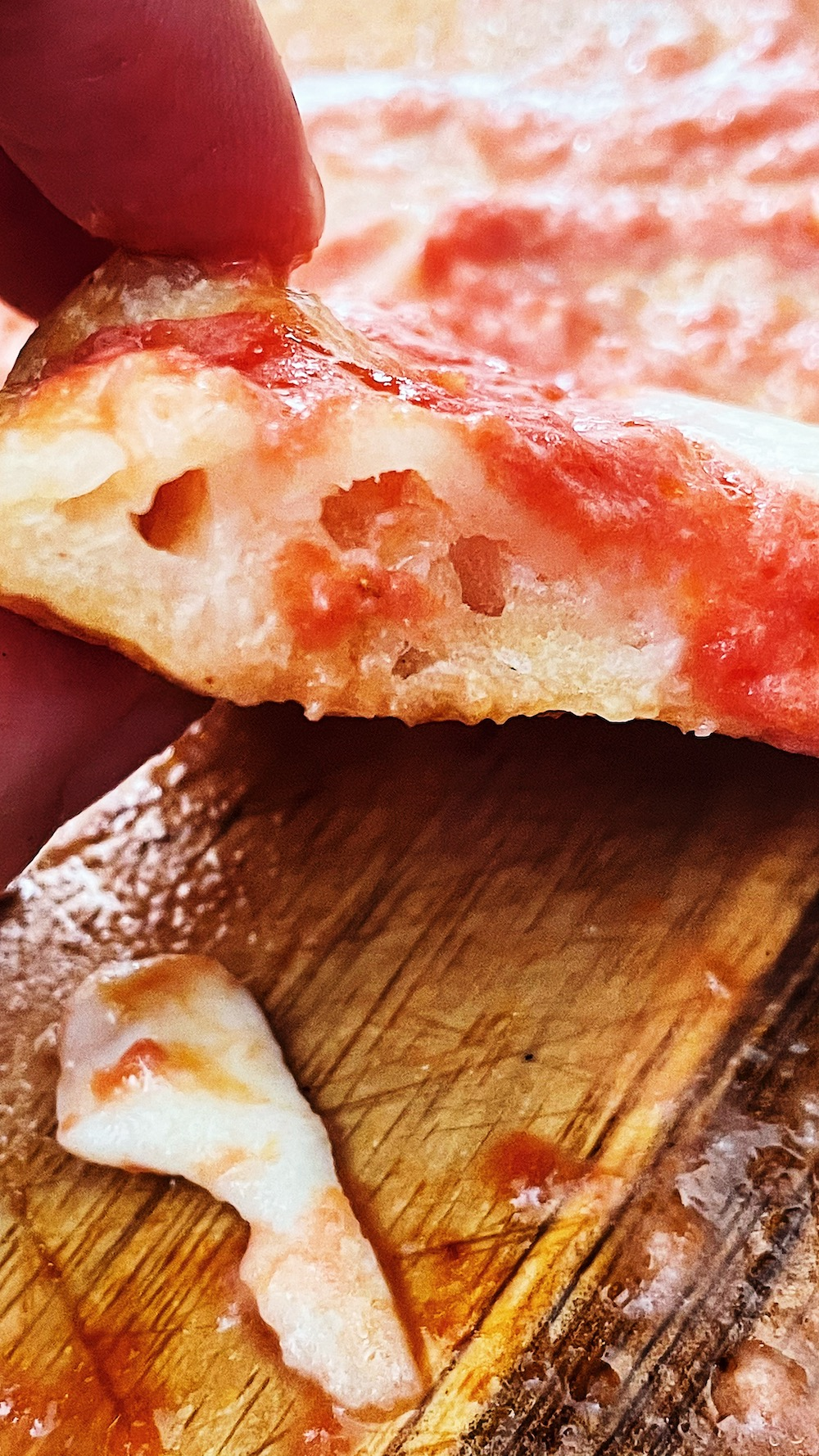 chewy Italian pizza dough